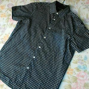 Michael Kors Plaid Button-up